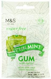 Marks & Spencer Žvýkačka se silnou příchutí máty bez cukru se sladidly