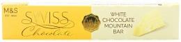 Marks & Spencer Švýcarská bílá čokoláda s medovo-mandlovým nugátem