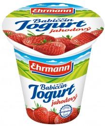 Ehrmann Babiččin jogurt jahoda