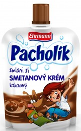 Ehrmann Pacholík smetanový krém čokoládový