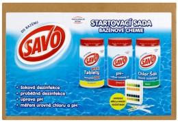 Savo Do Bazénu Startovací sada bazénové chemie