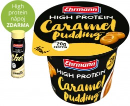 Ehrmann High Protein Pudding Caramel