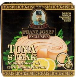 F.J.Kaiser Tuňák steak v rostlinném oleji s citrónem