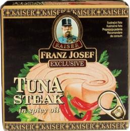 F.J.Kaiser Tuňák steak v pikantním oleji