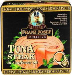 F.J.Kaiser Tuňák steak v rostlinném oleji