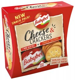 Mini Babybel Cheese & Crackers