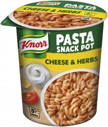 Knorr Snack Těstoviny se sýrovo-bylinkovou omáčkou