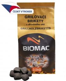 Biomac grilovací brikety