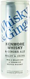 Marks & Spencer Whisky a Ginger Ale