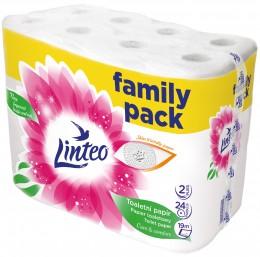 Linteo Family pack toaletní papír 2vr., 24ks