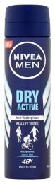 Nivea Men Dry Active Sprej antiperspirant