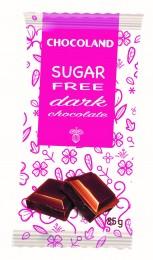 Chocoland Sugar Free Hořká čokoláda