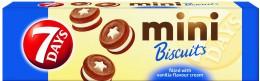 7Days Mini sušenky vanilka