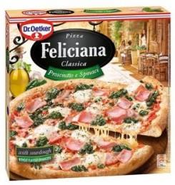 Dr. Oetker Pizza Feliciana Prosciutto a špenát
