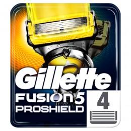 Gillette Fusion Proshield Holicí hlavice pro holicí strojek 4ks