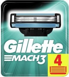 GilletteMach3 cartridge 4 Náhradní holicí hlavice 4ks