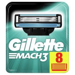 GilletteMach3 Náhradní holicí hlavice 8ks