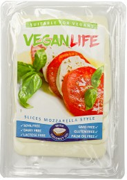 Vegan Life Mozzarella style plátky
