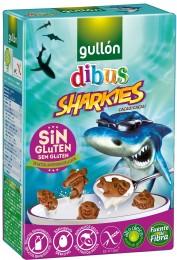 Gullón Sharkies sušenky bez lepku, se sníženým obsahem laktózy