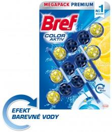 Bref Blue Aktiv Lemon WC blok 3x50g
