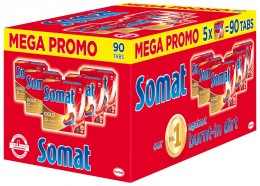 Somat Gold BOX tablety do myčky 90ks