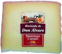 Don Álvaro Manchego Curado PDO 6 měsíců zrání
