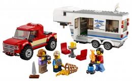 LEGO® City Great Vehicles 60182 Pick-up a karavan