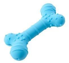 Kruuse Hračka pro psy BUSTER Flex Bone, modrá 16cm