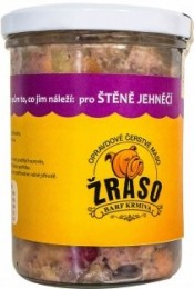 Žraso BARF Štěně - varianta JEHNĚČÍ sterilované