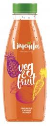Limeñita Veg&Fruit směs šťáv a pyré ananas, mrkev, mango