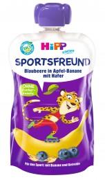 HiPP BIO Sport Jablko-Banán-Borůvky-Oves