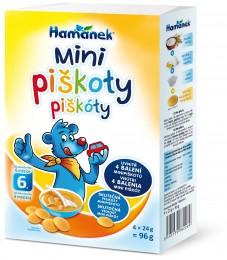 Hamánek Mini piškoty 4 x 24g