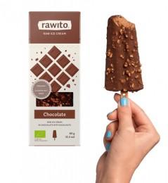 Rawito Čokoládová zmrzlina v čokoládě s lískovými oříšky