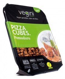 Vegini Vegetariánské Pizza kostky s rajčetem