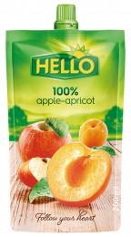 Hello 100% jablko-meruňka