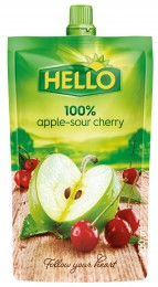 Hello 100% jablko-višeň