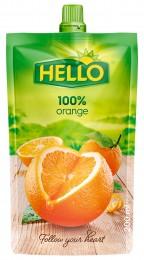 Hello 100% pomeranč