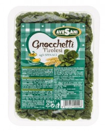 Avesani Gnocchetti Tirolesi špenátové