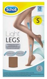 Scholl Light Legs™ Kompresní punčochové kalhoty 20 DEN tělové S