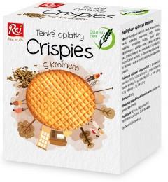 REJ Crispies oplatky bezlepkové s kmínem