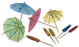 Banquet Deštníčky ozdobné MY PARTY, 10 ks