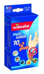 Vileda MultiLatex rukavice vel. S/M, 12ks