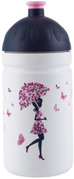 Zdravá lahev Dívka s deštníkem 500 ml