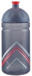 Zdravá lahev BIKE Hory červená 500 ml
