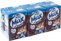 Lactel Max čokoládový, 6x200 ml