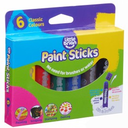 Little Brian Paint Sticks standard, 6-pack