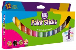 Little Brian Paint Sticks standard, 12-pack