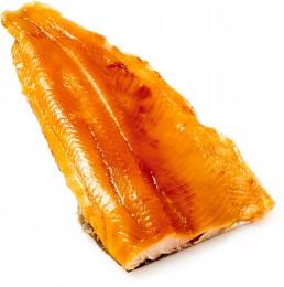 Pstruh uzený - filet s kůží