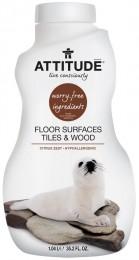 Attitude Čistící prostředek na podlahy a dřevo s vůní citronové kůry