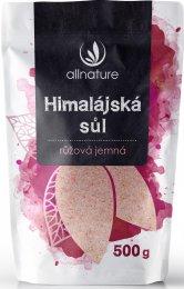 Allnature Himalájská sůl růžová jemná